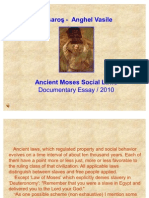 Ancient Moses Social Laws - Documentary Essay 2011 (PPT)