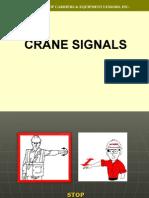V Crane Signals