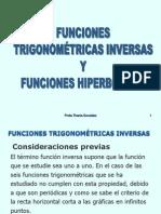 Tema2. Funciones Inversas Trigonométricas e Hiperbólica
