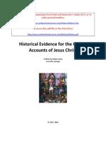 Historical Evidence for the Gospel