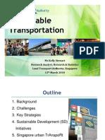 Singapore Land Transport Authority (LTA) Transport Strategy