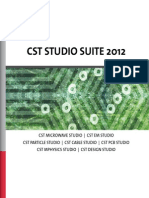 Cst Studio Suite 2012 Brochure Low
