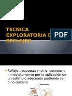 Tecnica Exploratoria de Reflejos 1