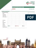 CREDAI Bankcon 2015 -Registration Form