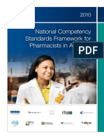 Pharmacy Competency Standards