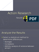 ActionResearch Results
