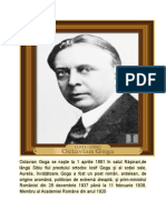Octavian Goga se naşte la 1 aprilie 1881 în satul Răşinari.docx