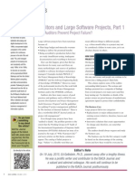 Auditors and Large Software Projects Part 1 Joa Eng 0915