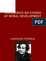 Kohlbergs Six Stages of Moral Development
