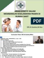 Komunikasi Dokter dan Pasien