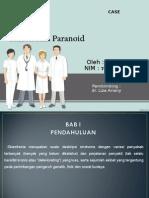 Skizofrenia Paranoid (Famela)