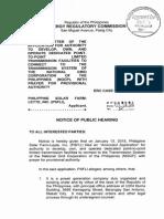ERC Case No. 2014-107 MC