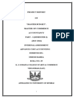 Master Budget - Copy.doc