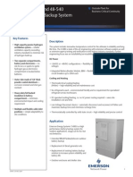 0469 - Outdoor Battery Backup System Brochure