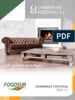 Catálogo Chimeneas REDONDO de LEÑA 2019/20
