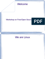 Workshop on Free/Open Source Software