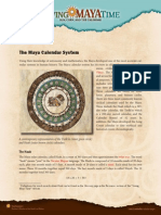 The Maya Calendar System