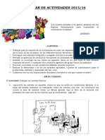 Plan de Convivencia 2015-16