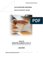 01 Manual de Auditoria Tributaria Etapas