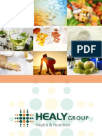 Healy Groups Health & Nutrition Brochure