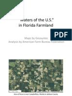 Florida Farm Bureau - WOTUS Maps