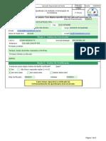 F-741.01 - Questionario de Avaliação e Homologação de Fornecedores