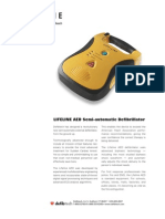 Lifeline AED Specsheet