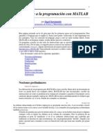 Introducción a La Programación Con MATLAB