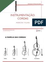 Instrumentação - Cordas
