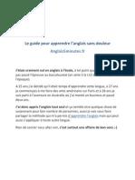 Le Guide Pour Apprendre Langlais Sans Douleur-1