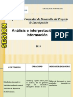 S 8 DT 2015 Analisis e Interpretacion