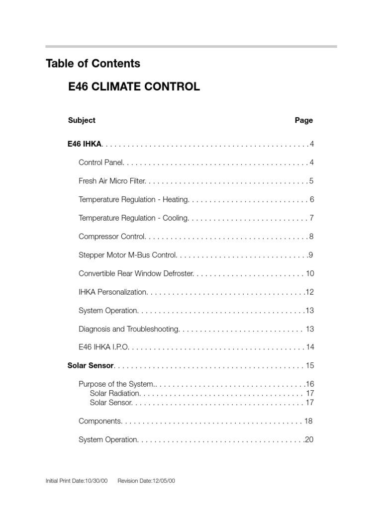 E46 climate control hvac air conditioning swarovskicordoba Image collections