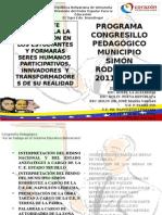 PROGRAMA CONGRESO PEDGOGICO 2012.pptx