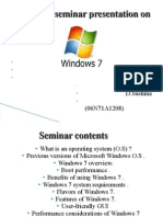 Windows 7 Ppt