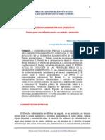 Wilson Villarroel - El Derecho Administrativo en Bolivia - Estado y Evolución - Versión Final