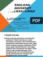 Penulisan Manuskript Prof Sjm Design