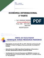 1a Parte Economia Internacional Unifor.2014.2