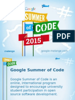 Google Summer of Code 2015