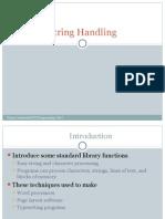 String Handling