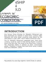 Gold Dinar - Economy