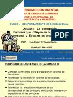 SESION 03 Diapositivas La Percepción, factores en TD y Etica.pptx