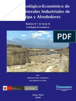 Boletin 22b Estudio Geológico Económico de Rocas y Minerales Industriales de Arequipa y Alrededores