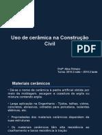 Materiais de Construção II-Cerâmicas