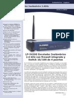 Documents Sp Wireless LP5420G SS SPB01W