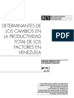 Factores Que Inciden en La Producción BCV (1)
