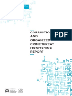 Corruption and Organized Crime Threat Monitoring Report