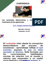 Contenidos de La Preparación Teórico- Práctica.