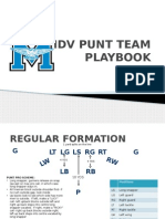 punt team playbook