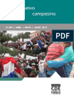INFORMATIVO CAMPESINO - 249 - ABRIL MAYO JUNIO 2012 - CDE - PORTALGUARANI
