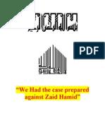 We Had the Case Prepared Against Zaid Hamid